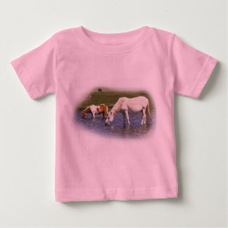 Ponies At Watering Hole infant t-shirt