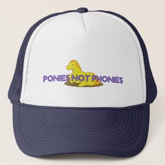 Ponies Not Phonies Trucker Hat