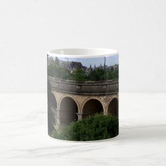 Pont Adolphe, Luxembourg Basic White Mug