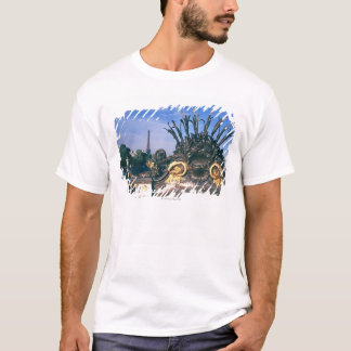 Pont Alexandre III Bridge and Eiffel Tower. T-Shirt