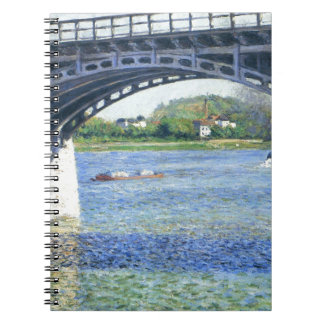 Pont d'Argenteuil by Gustave Caillebotte Notebooks