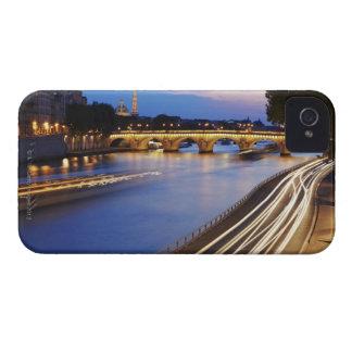 'Pont Louis Philippe' bridge and Eiffel iPhone 4 Cover