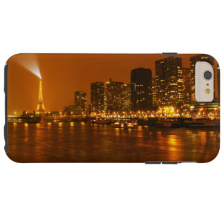 Pont Mirabeau Paris France Night Skyline Panorama Tough iPhone 6 Plus Case