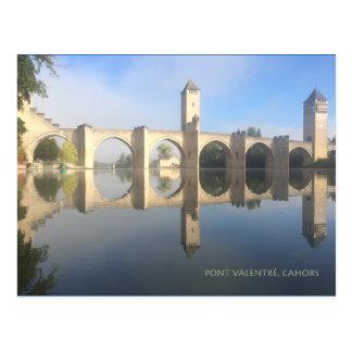 Pont Valentré, Cahor Postcard