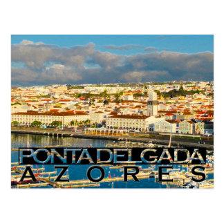 Ponta Delgada Postcard