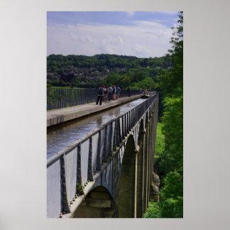 Pontcysyllte Aqueduct Poster