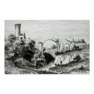 Ponte della Badia, Vulci Poster