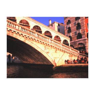 Ponte Rialto Gallery Wrapped Canvas