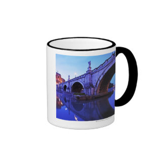 Ponte Sant Angelo and Castel Sant Angelo over Coffee Mugs