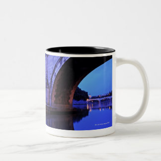Ponte Sant' Angelo and Castel Sant' Angelo over Two-Tone Coffee Mug