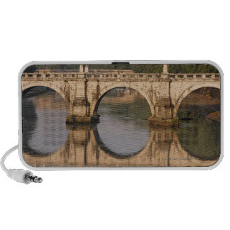 Ponte Sant'Angelo, Tiber River, Rome, Italy Mp3 Speakers
