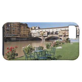 Ponte Vecchio and table along Arno Rive iPhone 5 Covers