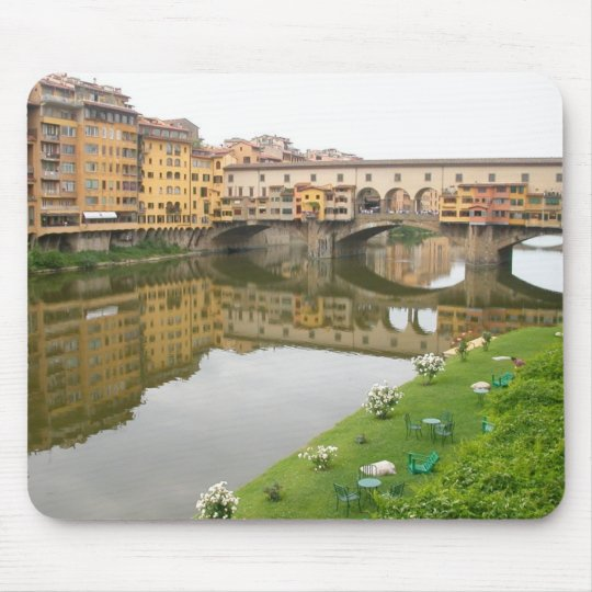 Ponte Vecchio Bridge Mouse Mat