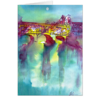 Ponte Vecchio -Florence Card