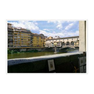 Ponte Vecchio Florence Italy Acrylic Wall Art