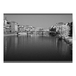 Ponte Vecchio, Florence, Italy Card