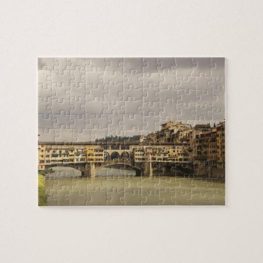 Ponte Vecchio Florence Italy Jigsaw Puzzle