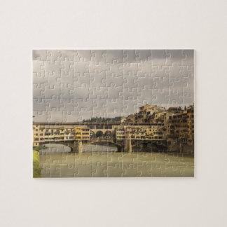 Ponte Vecchio Florence Italy Puzzle