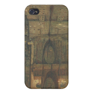 Ponte Vecchio, Florence (oil on canvas) iPhone 4 Covers