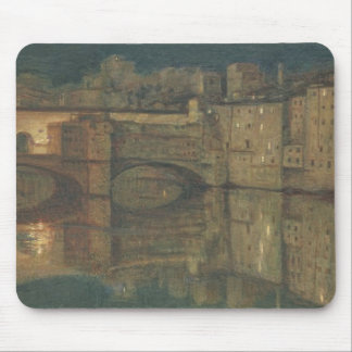Ponte Vecchio, Florence (oil on canvas) Mouse Pad