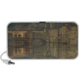 Ponte Vecchio, Florence (oil on canvas) Mp3 Speakers