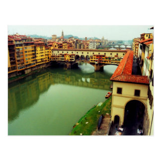 Ponte Vecchio - Florence Postcard