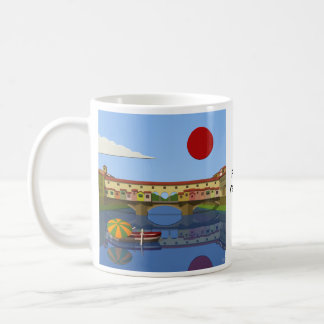 Ponte Vecchio Basic White Mug