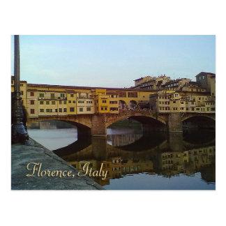 Ponte Vecchio Old Bridge Florence Italy Gift Postcard