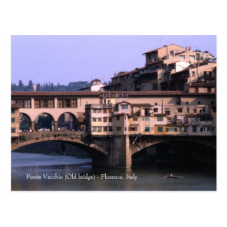 Ponte Vecchio (Old bridge) | Postcard