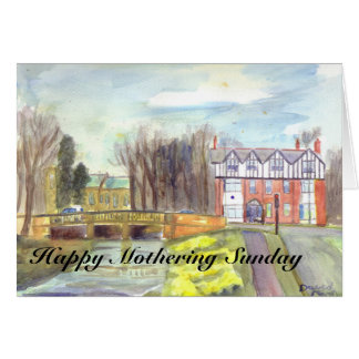 Ponteland Mothering Sunday card
