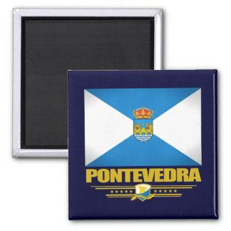 Pontevedra Square Magnet