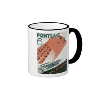 Pontiac 6 coffee mugs