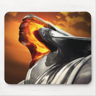 Pontiac Chieftain Sunset Poncho Mousepad