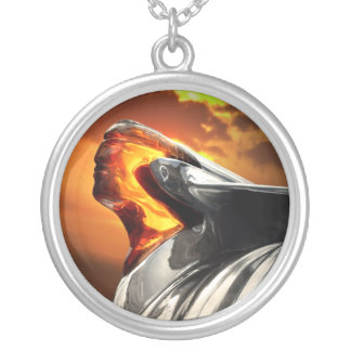 Pontiac Chieftain Sunset Poncho Necklace