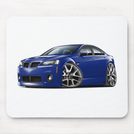 Pontiac G8 GXP Blue Car Mouse Pad