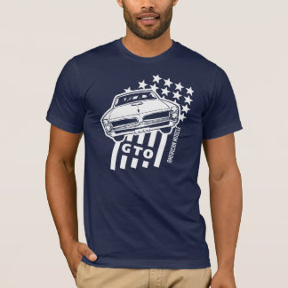 Pontiac GTO Stars & Stripes T-Shirt