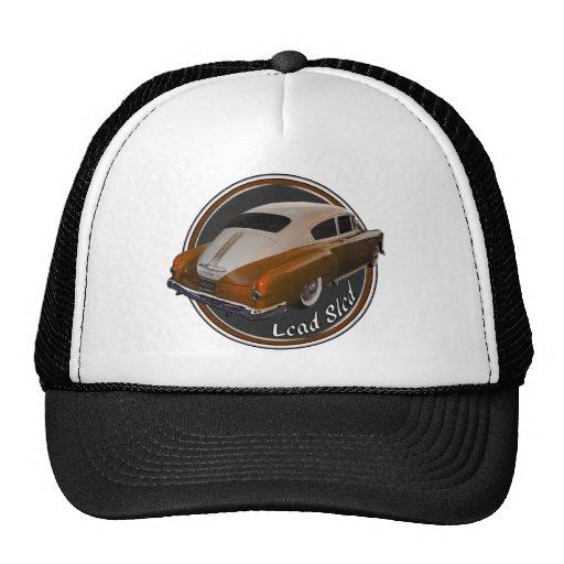 pontiac lead sled copper lowrider mesh hat