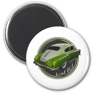 pontiac lead sled green lowrider magnet