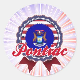 Pontiac, MI Stickers