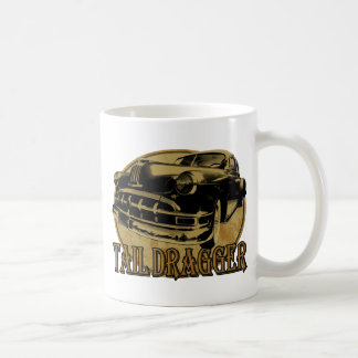 Pontiac Tail Draggin Lowrider Basic White Mug