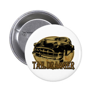 Pontiac Tail Draggin Lowrider Button