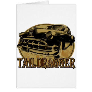 Pontiac Tail Draggin Lowrider Greeting Card