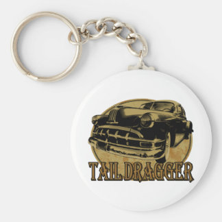 Pontiac Tail Draggin Lowrider Key Chain