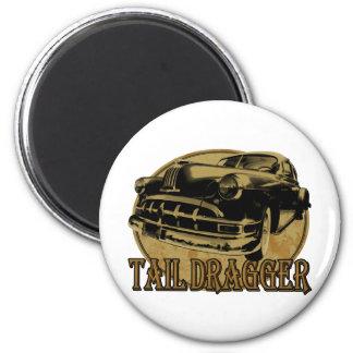Pontiac Tail Draggin Lowrider Fridge Magnets