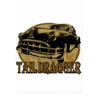 Pontiac Tail Draggin Lowrider Postcard