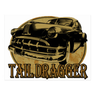 Pontiac Tail Draggin Lowrider Postcards