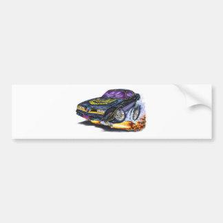 pontiac trans am art bumper sticker
