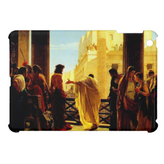 Pontius Pilate presenting a scourged Jesus Cover For The iPad Mini