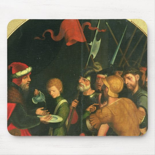 Pontius Pilate washing his Hands Mouse Mat