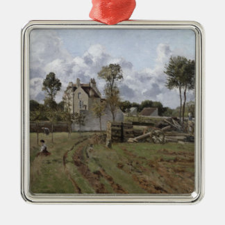 Pontoise Landscape, c.1872 Christmas Ornament